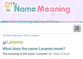 mean names has no one looked at the meaning of the name