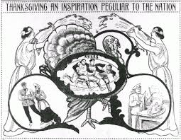 thanksgiving newspaper and current periodical reading room