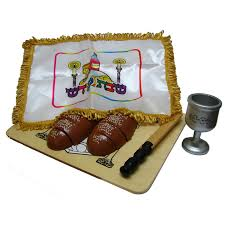 shabbat plata shabbos totty wood shabbat 6 set