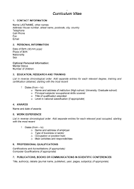 Co Curricular Activities In Resume Sample by 48 Great Curriculum Vitae Templates U0026 Examples Template Lab