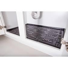 kitchen cabinet liners black kitchen depth under sink cabinet mat drip tray shelf liner
