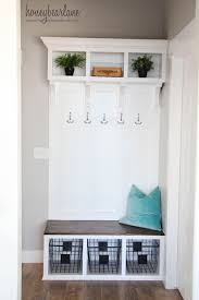 bench built in mudroom bench furniture saving small and narrow