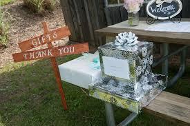 wedding gift table casual farm wedding and diy signstruly engaging wedding