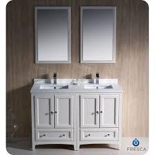48 White Bathroom Vanity Fresca Oxford 48