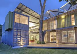 2 story home designs 8 shipping containers make up a stunning 2 story home