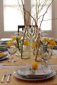 dining room comfy christmas dinning table decoration ideas with