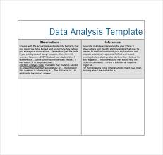 sample data analysis 4 documents in pdf word