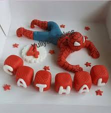 Die Besten 25 Spiderman Cake Topper Ideen Auf Pinterest