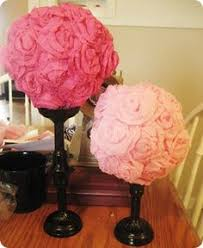 Topiary Balls With Flowers - paper roses topiary diy u0026 crafts pinterest paper roses