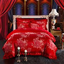 vintage floral bedding red promotion shop for promotional vintage