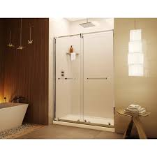 Fleurco Shower Door Discobath Fleurco 45 47 X 74 1 2 Axent Bypass Sliding Shower