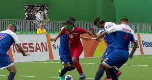 Paralympics Blind Football Visually Impaired Soccer Player Scores Incredible Solo Goal At Rio