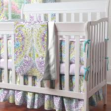 Aqua And Pink Crib Bedding by Crib Bedding Violet Creative Ideas Of Baby Cribs