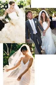 wedding dresses vera wang vera wang s 10 greatest wedding dresses vogue
