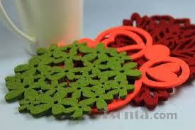 table mats and coasters felt placemats felt coasters felt table mats untersetzer id 7269546