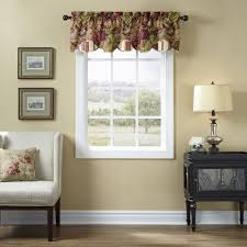 Waverly Window Valances by Waverly Floral Flourish Cordial Valance Walmart Com