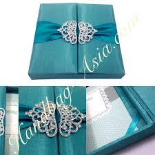 teal wedding invitations luxury 6x6x1 turquoise teal wedding invitation boxedding