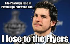 Flyers Meme - i don t always lose in pittsburgh but when i do i lose to the