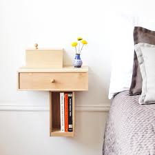 bedroom wall mounted bedside table to make your bedroom beautiful