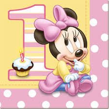 minnie mouse 1st birthday minnie mouse 1st birthday lunch napkins 16pk parties4kids