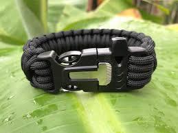 survival bracelet whistle buckle images Whistle buckle fire starter survival straps jpg