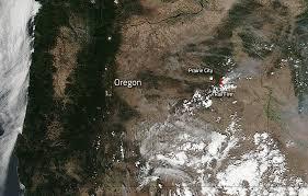 map of oregon smoke rail in oregon still burning bright nasa