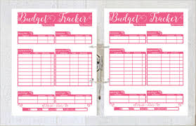 5 daily budget planner templates free sample example format