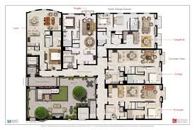 floor plans with courtyards building plans the courtyard at citrus