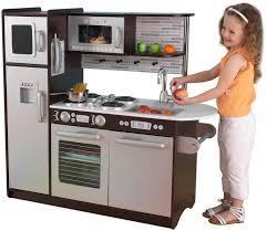 amazon com kidkraft uptown espresso kitchen toys 150