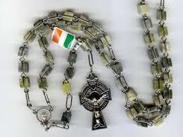 connemara marble rosary connemara marble celtic rosary