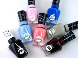sally hansen miracle gel nail polish top coat review and