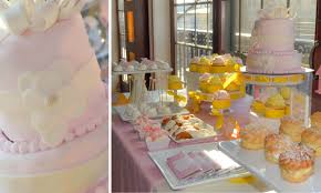 Baby Shower Sweets And Treats Pink And Yellow Baby Shower U2013 Cw Distinctive Designs