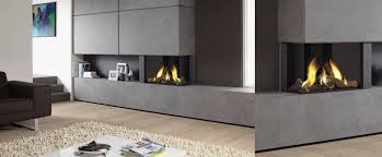 lugo 2 double sided gas fireplace double sided fires platonic