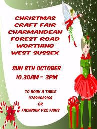 christmas craft fair charmandean forest road worthing west sussex