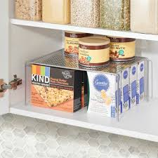 kitchen cabinet storage containers metal kitchen cabinet pantry storage shelves pack of 2