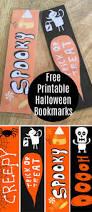 free printable halloween bookmarks onion rings u0026 things