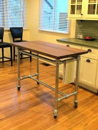 rolling kitchen island ideas movable butcher block kitchen island best rolling kitchen island