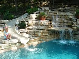 Natural Backyard Pools by Best 25 Pool With Slide Ideas Only On Pinterest Beautiful Pools