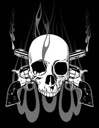 cool skull pics with guns search skulls things