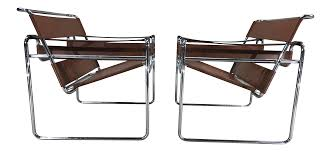 marcel breuer for stendig wassily chairs a pair chairish