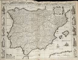 Northern Spain Map by The World Of Don Quixote Digital Collections For The Classroom