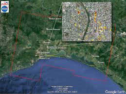 Map Of Southern Mexico by Southern Mexico Earthquake 2017 Nasa Earth Science Disasters Program