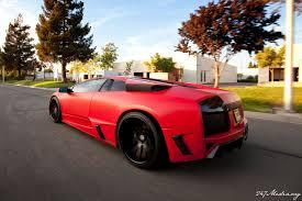 Lamborghini Murcielago Red - matte murcielago this time a red one with premier4509 kit