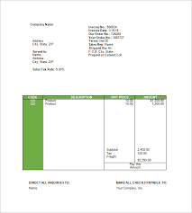 travel invoice templates u2013 14 free word excel pdf format
