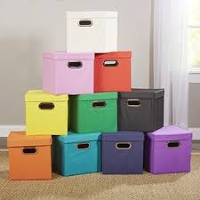 Decorative Paper Storage Boxes With Lids Storage Boxes Storage Bins U0026 Storage Baskets You U0027ll Love