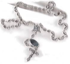vatican rosary jesus i trust in you rosary from italy with free vatican city