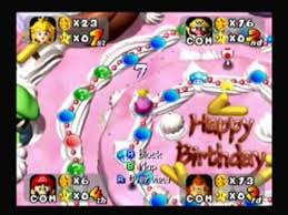 happy birthday spiderstaryu mario party peach u0027s birthday cake