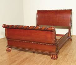King Cherry Headboard Cherry Wood Sleigh Beds Headboard U2014 Suntzu King Bed History Of