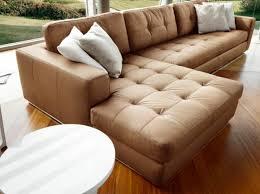 photos canapé d angle cuir marron clair