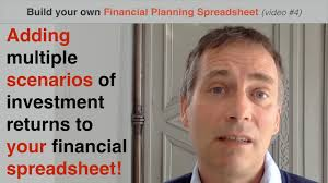 Financial Spreadsheet Build Your Own Financial Planning Spreadsheet Part 4 Adding